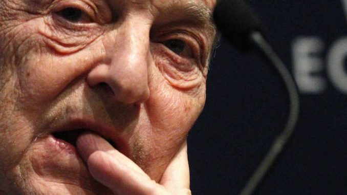 George Soros bets €100m on EU bank failing
