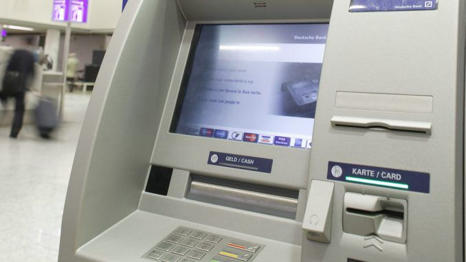 A German bank has blocked all ATM withdrawals