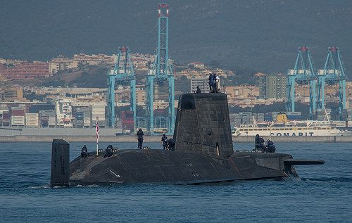 UK Sends A Nuclear Sub To Gibraltar