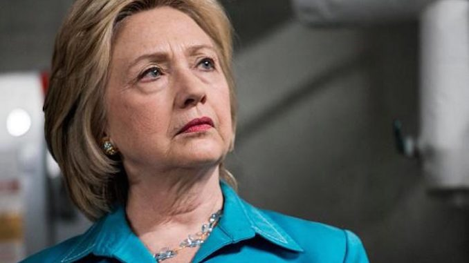 Hillary Clinton says she will prosecute all climate change deniers if she becomes President
