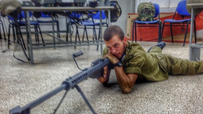 An IDF soldier has been sentenced to 30 days in jail after he was caught bragging about killing 13 Palestinian children in one day.