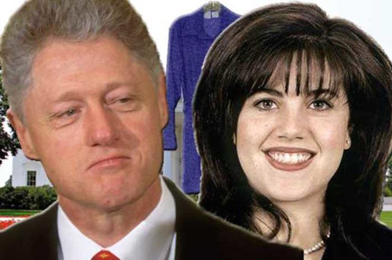 Monica Lewinsky dons leather pants and bonds with Ronan