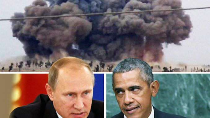 World War 3 looms as Russia and US face-off in Syria