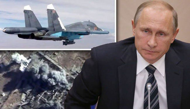Russian Airstrikes Destroy ISIS Oil Facilities Near Turkish Border