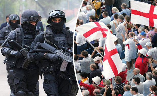 SAS, MI6 & British Paratroopers Primed For Euro 2016 Terror Attack
