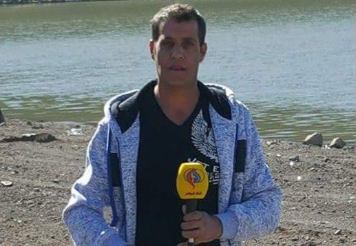 Safadi -Iran TV reporter
