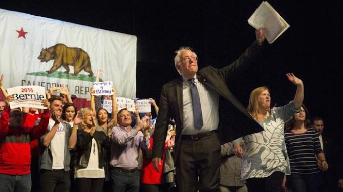 Bernie Sanders set to win the California vote this Tuesday