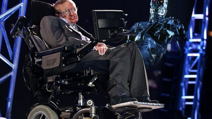 Stephen Hawking warns that humanity will be wiped out by robots, nuclear war and aliens in the next 100 years