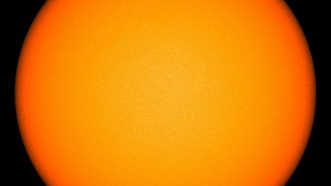 Scientists concerned as Sun goes completely blank for first time in 100 years