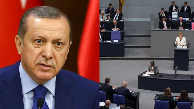 Erdogan warns Germany not to recognise the Armenian genocide