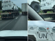 UN military vehicles spotted travelling across America