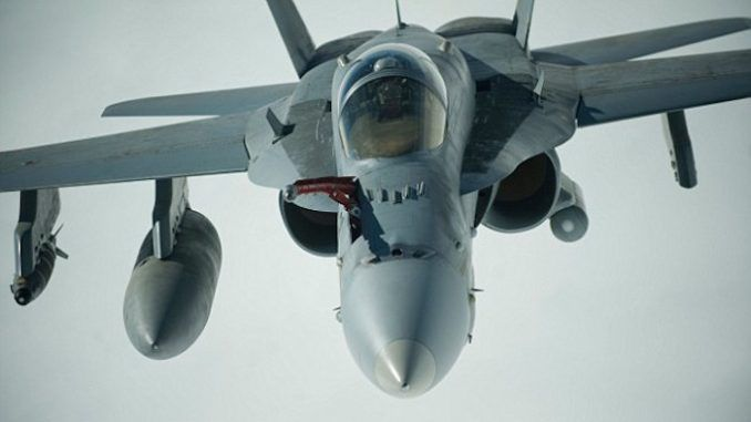 WW3: Russian and US fighter jets clash over Syria