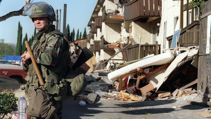 Evidence is emerging that the recent California earthquake and its highly irregular pattern of aftershocks was a 'man-made event' caused by the US military, raising the possibility they have created and are now testing a 'seismic weapons system.'