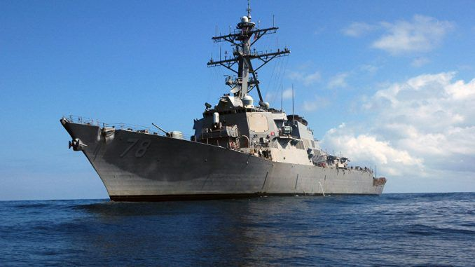 Russia Warns It Will Respond To US Destroyer Entering The Black Sea