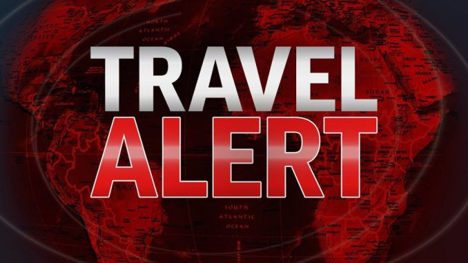 US State Department issues Europe travel warning