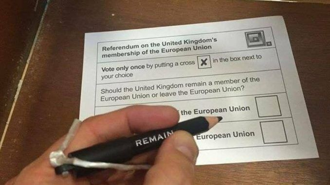 Brexit supporters suspect voter fraud in strange pencil-only polling stations in EU referendum
