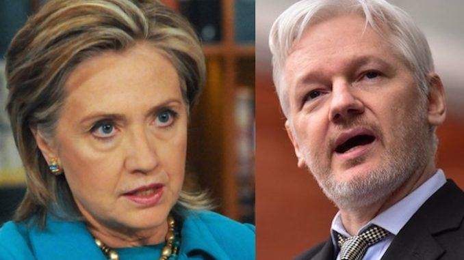 Wikileaks vows to release evidence that will indict Hillary Clinton