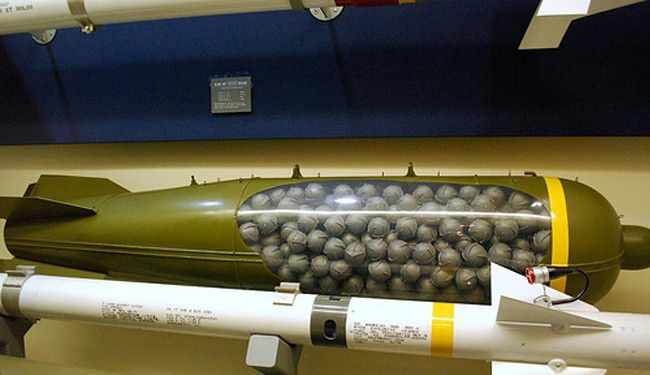 Financial Giants Funding The Production Of Cluster Bombs