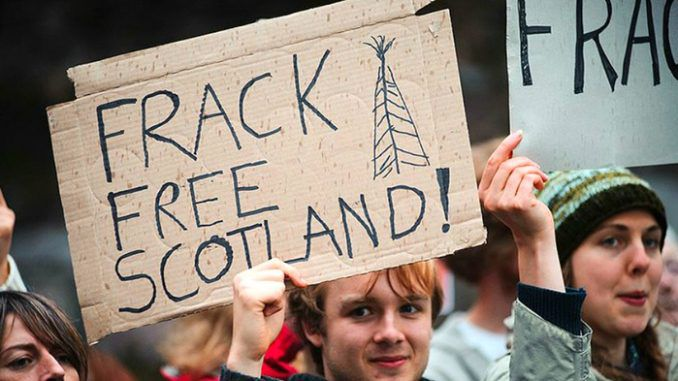 Scottish Parliament Votes In Favour Of Outright Fracking Ban