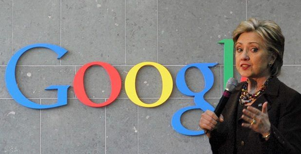 Assange: Google Involved In Hillary Clinton Campaign