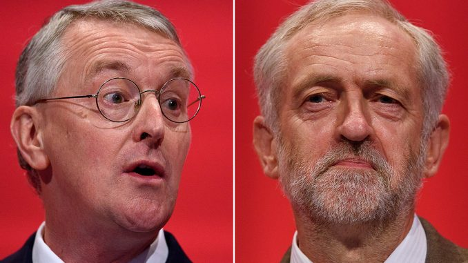 Jeremy Corbyn Sacks Hilary Benn After Coup Plot Revealed