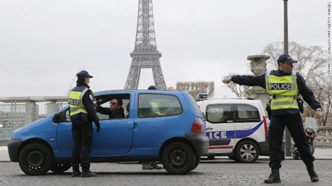 France say it is illegal to drive older cars
