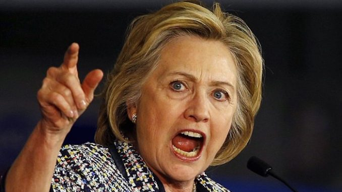 "Angry Hillary Clinton insists ""I did nothing wrong!"""