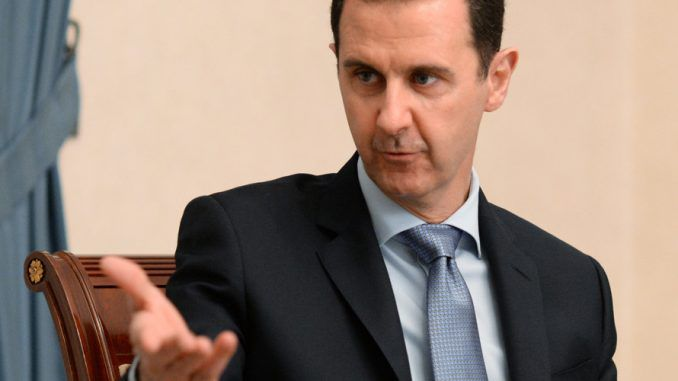 Brave President Assad has delivered a scathing attack on the U.S. for creating and perpetuating the rise of ISIS - but insists Syria's bloody civil war will be won within months, praising Vladimir Putin's Russian intervention for helping tip the scales towards victory.