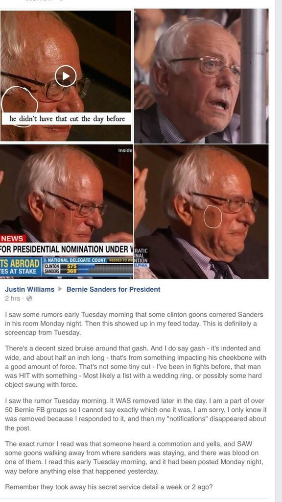 Beaten-Bernie