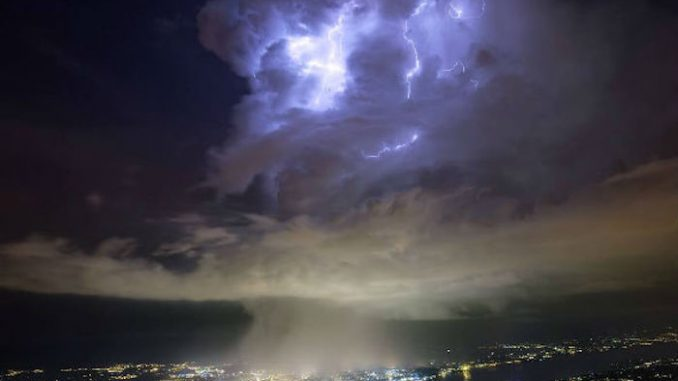 Mysterious clouds over CERN might be 'portal to other dimensions'