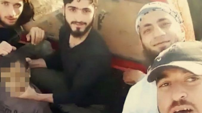 CIA funded Syrian rebels responsible for beheading of young Palestinian boy