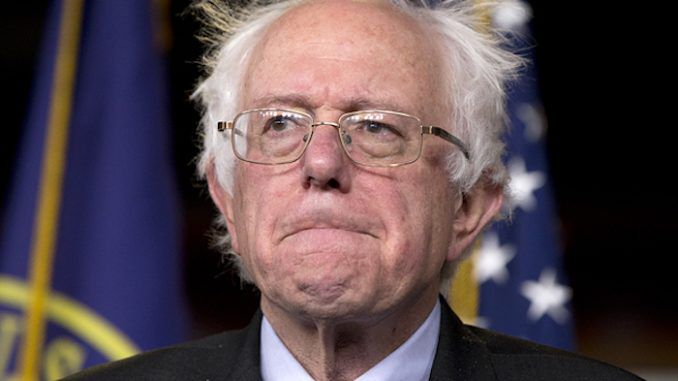"""Bernie Sanders revealed that shots were fired into his Nevada campaign office and that an """"apartment housing complex my campaign staff lived in was broken into and ransacked."""""""