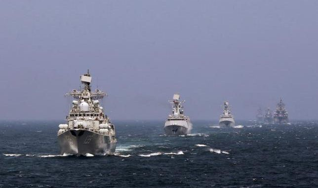 China & Russia To Hold Joint Military Drill In South China Sea