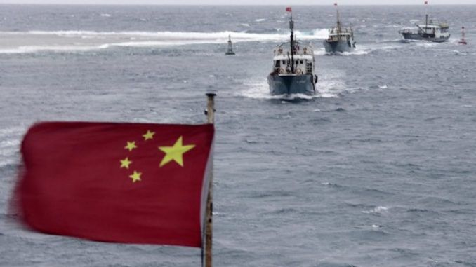 China could go to war with America within weeks over South China Sea dispute