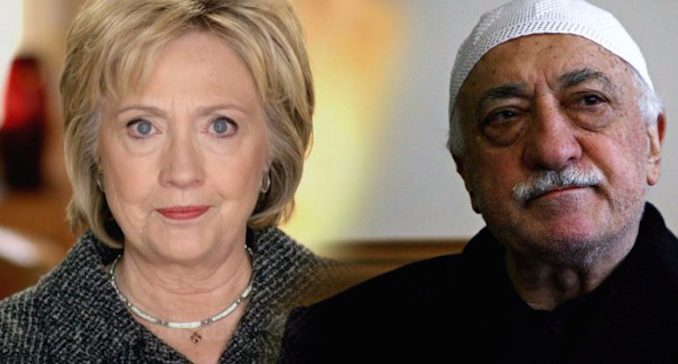 Hillary Clinton has connections to failed Turkey coup
