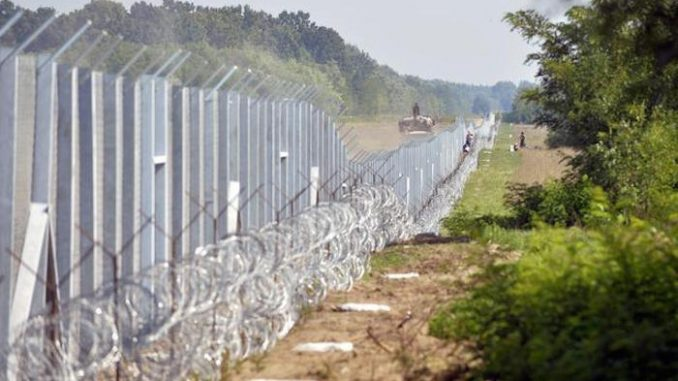 After months spent criticising Donald Trump's plan to build a border wall as fascist, ignorant and morally wrong, the Democratic National Committee has erected a four mile, eight foot high fence around the site of the convention in Philadelphia.