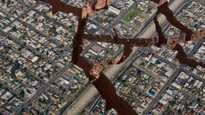 Swam of earthquakes continues to grow in California
