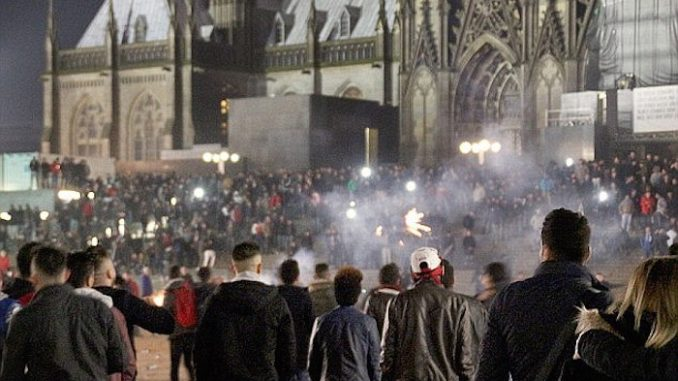 French citizens prepare for civil war against government in France
