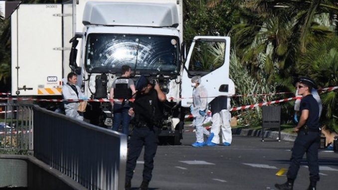 A French policer officer claims that the government in France are deliberately destroying Nice attack evidence amid a huge cover-up