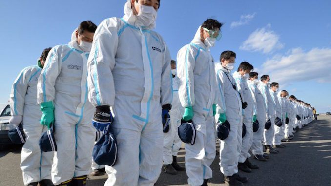 Greenpeace say that the Fukushima radiation levels are 100s of times higher than being reported to the public
