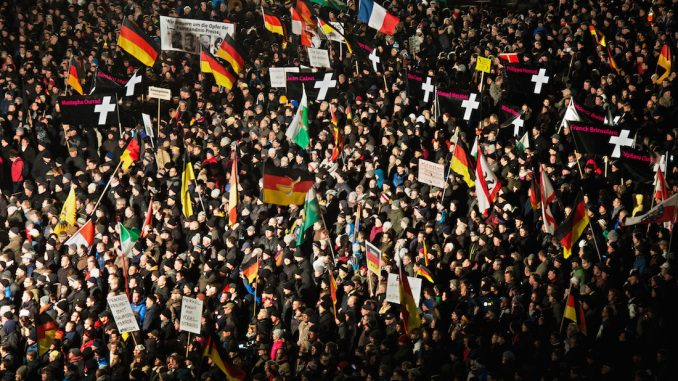 Civil uprising spreading across Germany