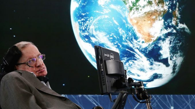 Professor Stephen Hawking believes alien life is real, but warns that they would have no problem wiping out the human race like a human might wipe out a colony of ants.