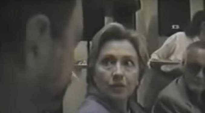 Hillary Clinton admits on video that she illegally stored classified information on her email server