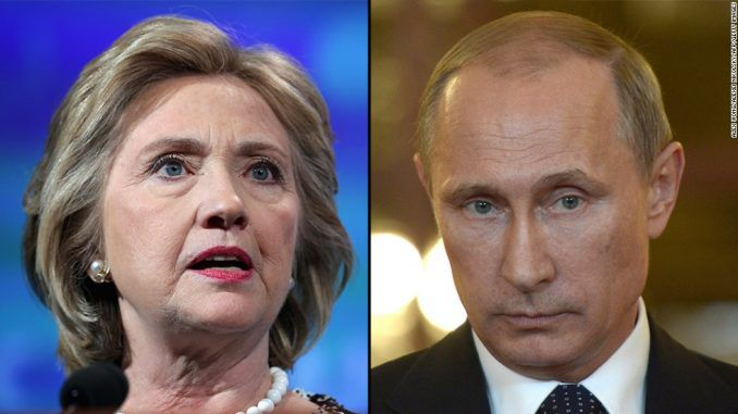 Hillary Clinton slams Vladimir Putin for 'embarrassing her' in the DNC email leak