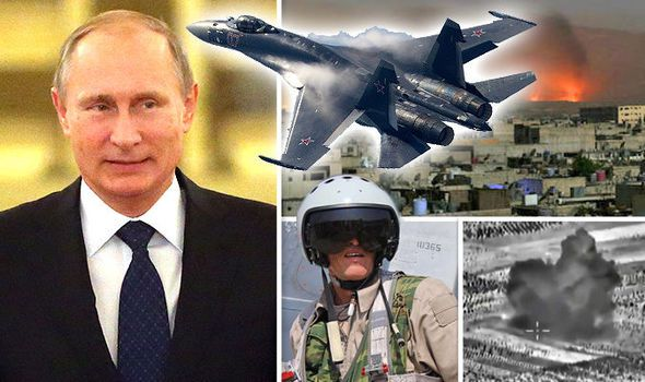 Russian Bombers Destroy 'Major' ISIS Camp In Central Syria