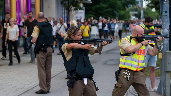 Manhunt Underway In After At Least 6 Killed In Munich Shooting
