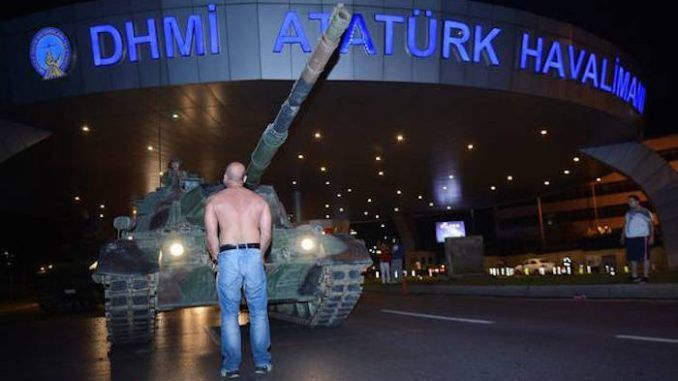 US and NATO funded failed Turkey coup