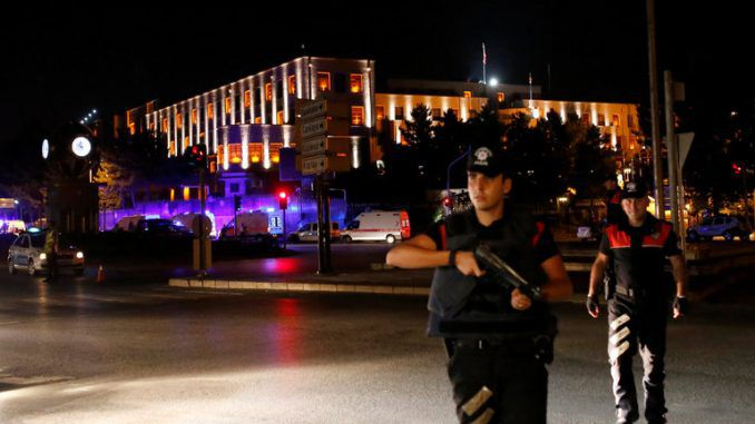 Military Coup Underway In Turkey