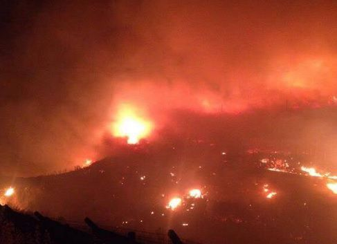 Massive Fire Erupts Neat NATO Base In Izmir, Turkey