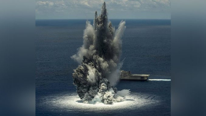 US Navy conducts secret tests causing earthquake off the coast of Florida